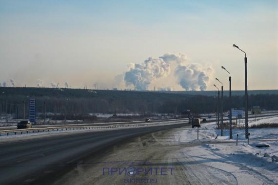 Дымы Челябинска